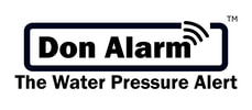 DON ALARM - THE WATER PRESSURE ALERT